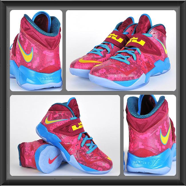 bc2ecbbf079 Nike LeBron Zoom Soldier VII