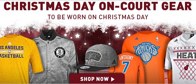 2a1faa512 NBA 2013 Christmas Day Collection. nba-christmas-gear