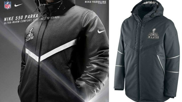 official photos ae2f6 86aeb Nike NFL Super Bowl 550 Down Parka | SportFits.com