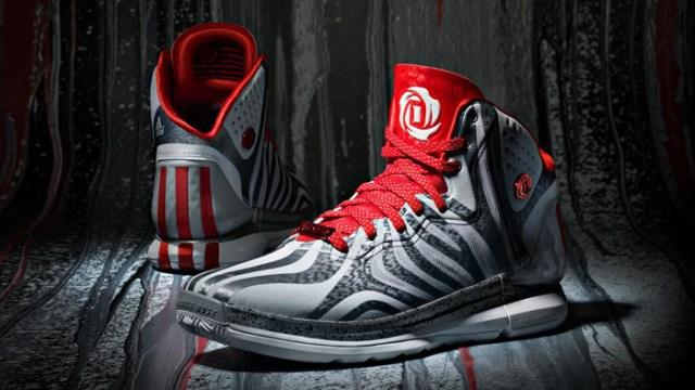 """5b8314b0501 adidas D Rose 4.5 """"Clear Grey"""""""