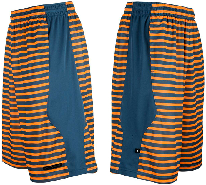new product 99e37 19293 Jordan Retro 10 Flipped Shorts (New Slate Atomic Orange)
