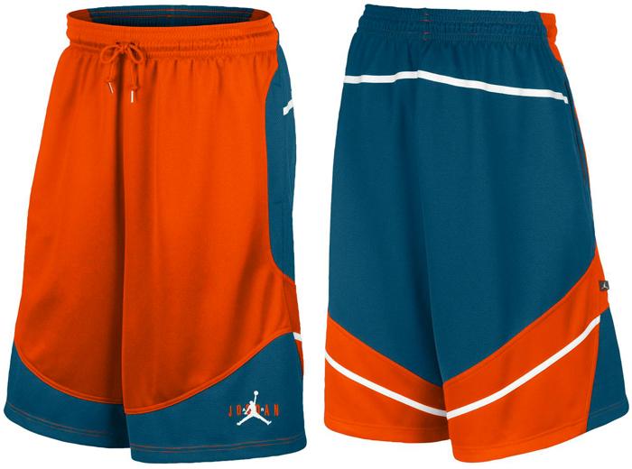 84203164e01d Jordan Retro 6 First Trophy Shorts (Team Orange New Slate White)