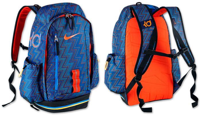 Nike KD Fast Break Backpack Blue Orange   SportFits.com a75cd85032