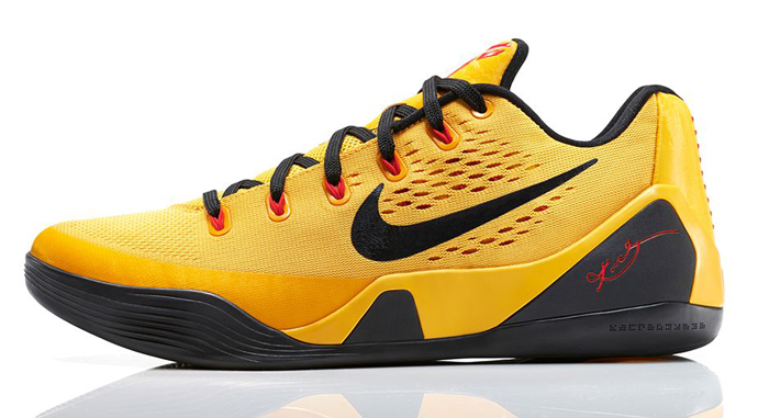 8b6ebf5bbd0a Nike Kobe 9 EM Low University Gold Bruce Lee