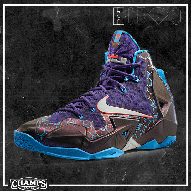 "57cfb56d9a06 Nike LeBron 11 ""Summit Lake Hornets"""