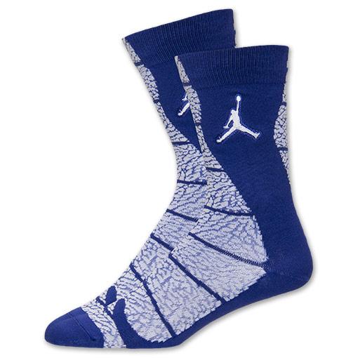 Black Air Fit Dri Socks Crew White Jordan