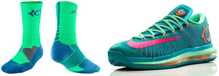 0df71ef138ba Nike KD VI Elite Hero Socks