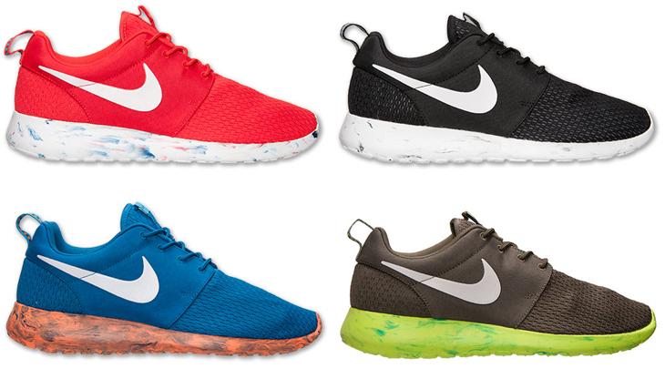 "premium selection 2b381 ccd14 Nike Roshe Run ""Marble"" Pack"