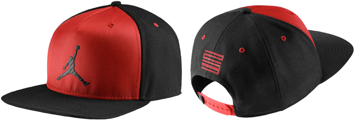 9b3f8f49a72a clearance red and black air jordan hat d49be 38600