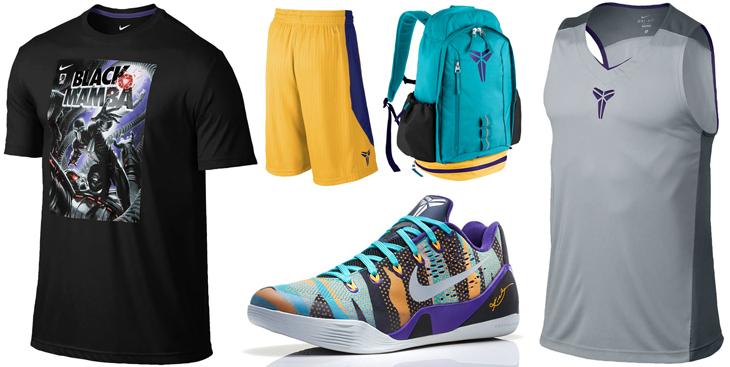 b73248c8d877 Nike Kobe 9 EM Pop Art Camo Clothing Shirts Shorts
