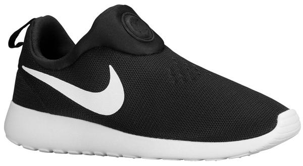 993cc6780ef0 Nike Roshe Run Slip On (Black White)