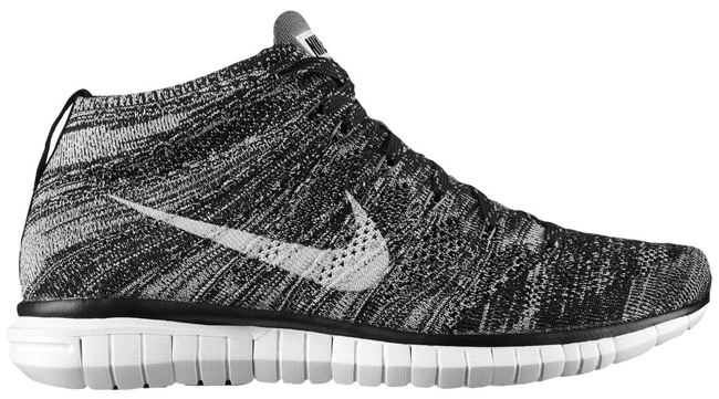 online store c5452 5fa65 Nike Free Flyknit Chukka (Black Pure Platinum Silver Dark Grey)