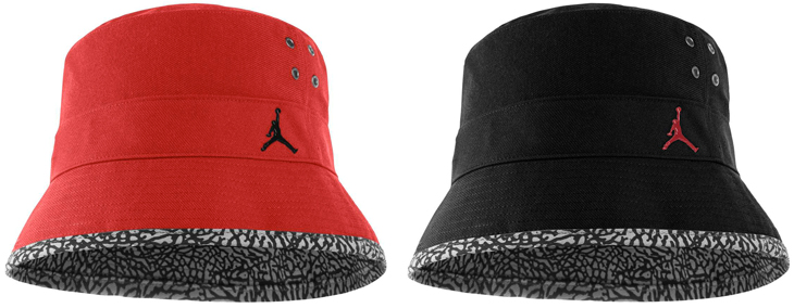 46456be0ba3 release date red jordan bucket hat 6b256 d3ec1