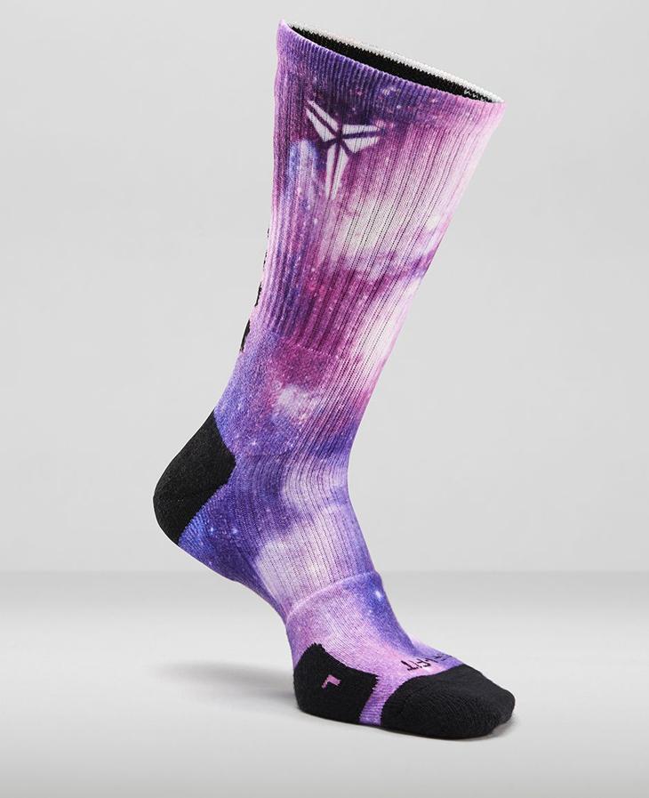 3686faf3ef0 Nike Kobe 9 Hyper Grape Digital Ink Socks