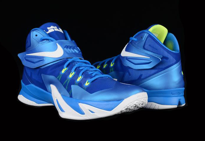 fe84bd4a235 Nike Lebron Zoom Soldier 8 Sprite