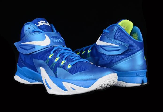 """f1da62e16ba9 Nike LeBron Zoom Soldier 8 """"Sprite"""""""