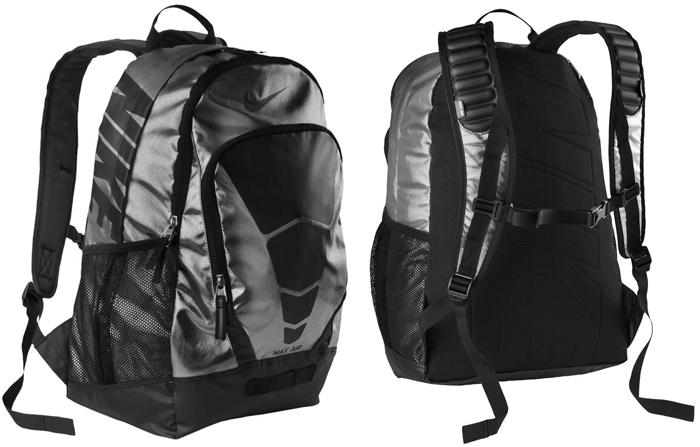 nike max air rucksack black