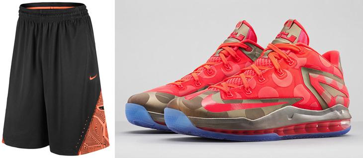 Nike LeBron 11 Low Maison Du LeBron Shorts  5387a1f1b6
