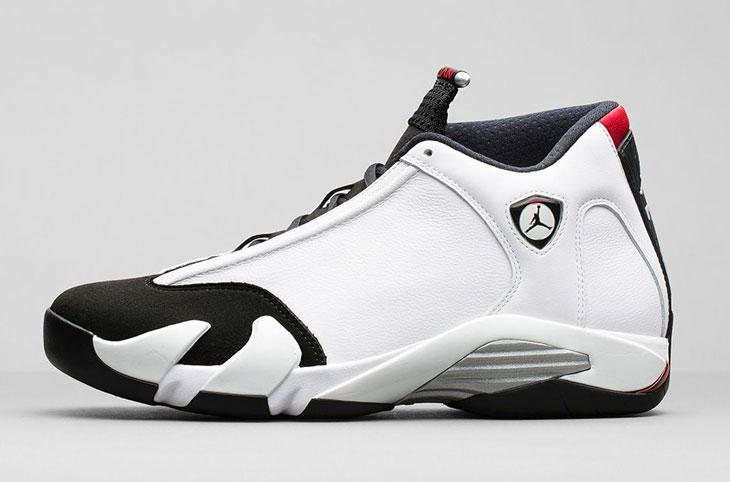0e4fca8ba2fc96 Air Jordan 14 Retro Black Toe Shorts