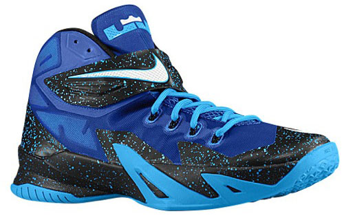the best attitude 14f00 81b9d Nike LeBron Zoom Soldier 8 (Game Royal White Blue Hero)
