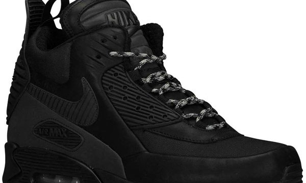 f682e4663d4d Nike Air Max 90 Winterized Sneakerboot quotTriple Black