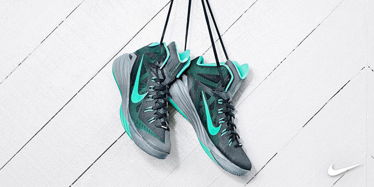 low priced c3022 e2fd3 Nike Hyperdunk 2014 (Dark Magnet Grey Catalina Turquoise)