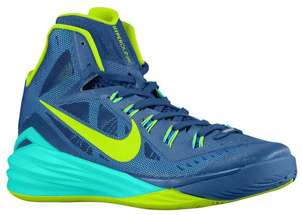 the best attitude 6ebb2 01cd4 Nike Hyperdunk 2014 (Gym Blue Hyper Turquoise Volt)