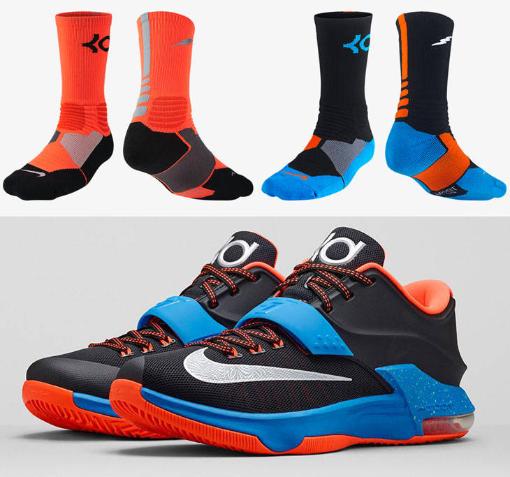 separation shoes 0d6d8 4d34e ... nike-kd-7-on-the-road-socks ...