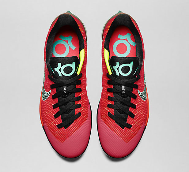 9ce983b98518 Nike KD Trey 5 II Action Red Medium Mint Volt Black