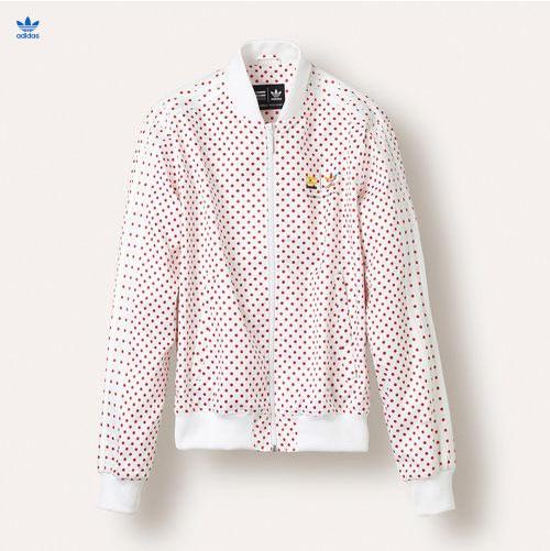 04b37ba8fc7 adidas Originals x Pharrell Williams Polka Dot Small Track Jackets ...