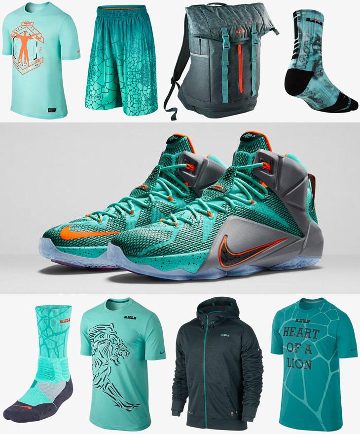 8e83881b0b68 Nike LEBRON 12 NSRL Clothing Apparel Shirts