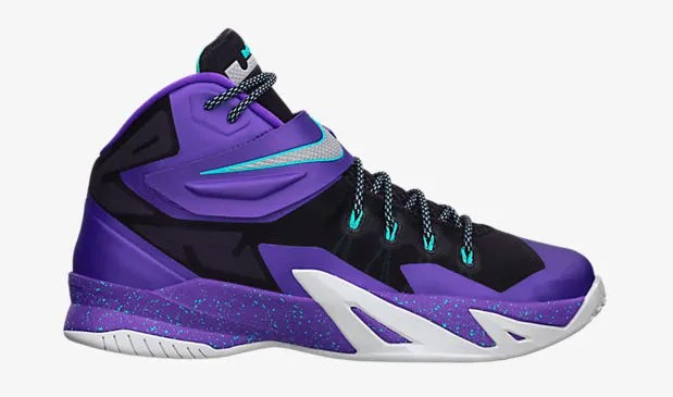 e7e31a1da5ab Nike Zoom LeBron Soldier VIII Cave Purple Hyper Grape Hyper ...