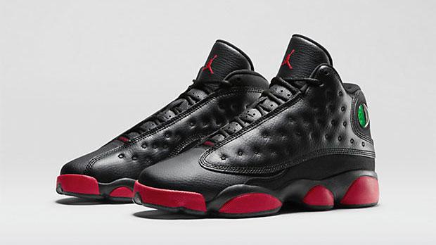 dda97ff5c21 Air Jordan 13 Black Gym Red Kids Boys Toddler Shoes | SportFits.com