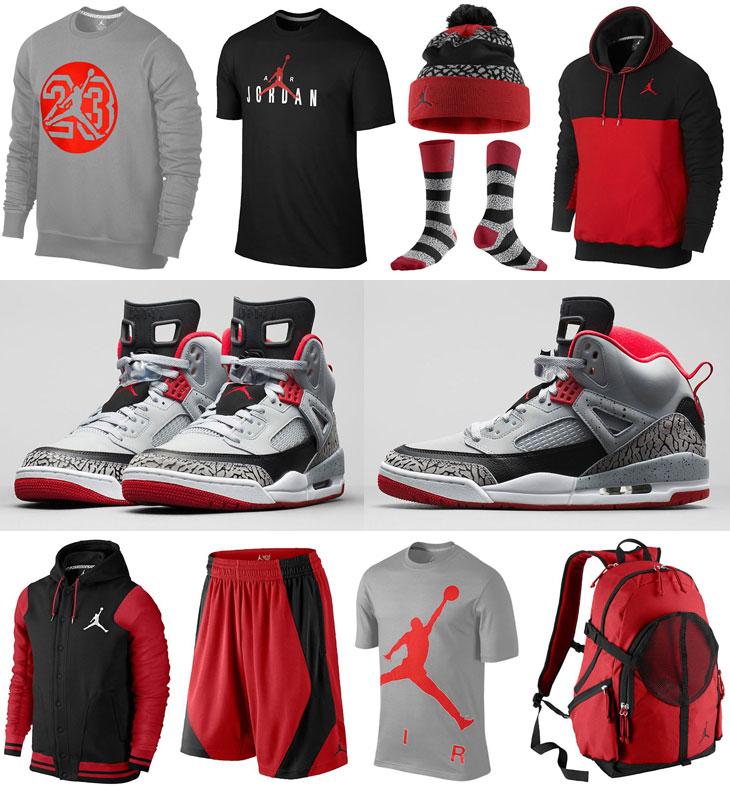 0921454419d3 Jordan Spizike Wolf Grey Clothing Shirts Socks Hats
