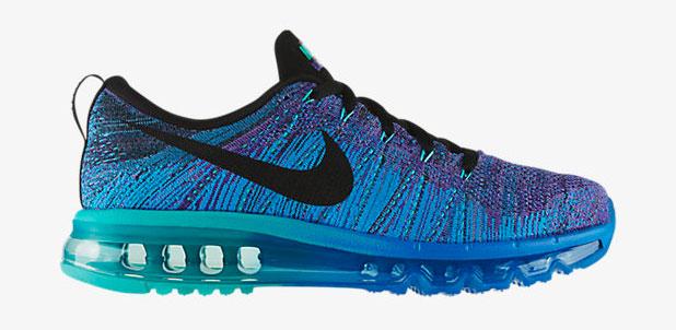 "best sneakers 9f229 9397a Nike Flyknit Air Max ""Hyper Grape Photo Blue Hyper Jade Black"""