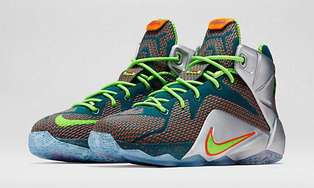 f50c65ae9beab Nike LEBRON 12 Trillion Dollar Man Kids Shoe