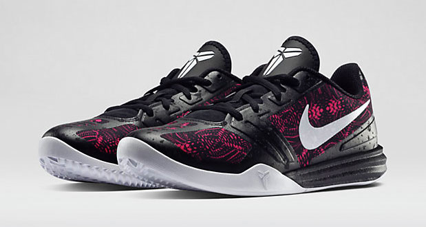 NIKE KOBE MENTALITY Bright Crimson/Black/White