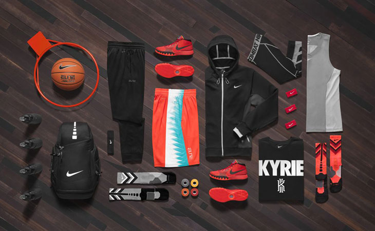 Nike KYRIE 1 Deceptive Red Shoes and Clothing  0c62a4d4a