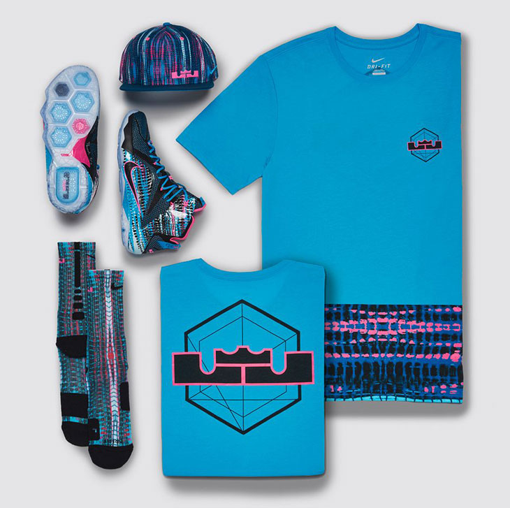 8c6b329d79092 Nike LEBRON 12 23 Chromosomes Clothing and Apparel Collection ...