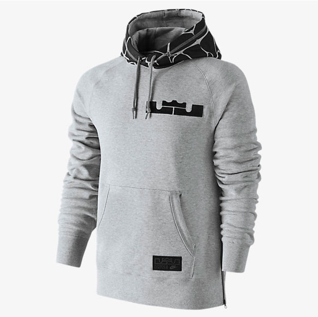 623ccd244d80 nike-lebron-side-zip-pullover-hoodie-grey-front