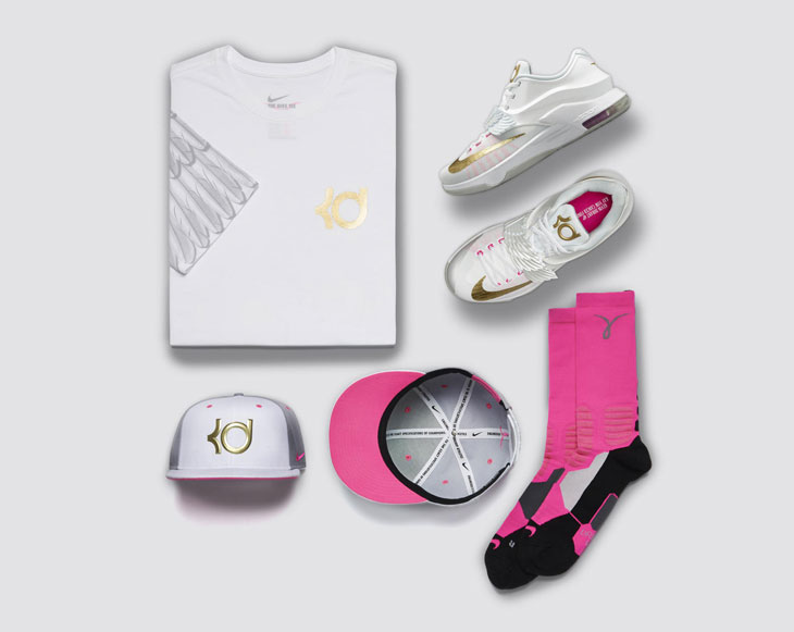 bb1173990e0556 Nike KD 7 Aunt Pearl Clothing and Shoes