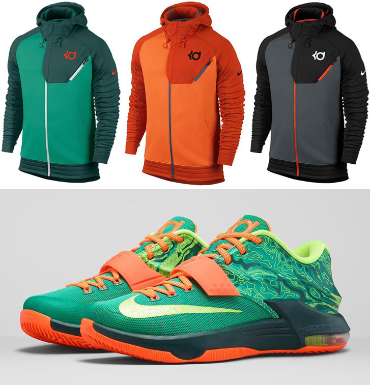 the latest a4fd2 a4117 Nike KD Hoodies to Wear with the Nike KD 7 Weatherman ...