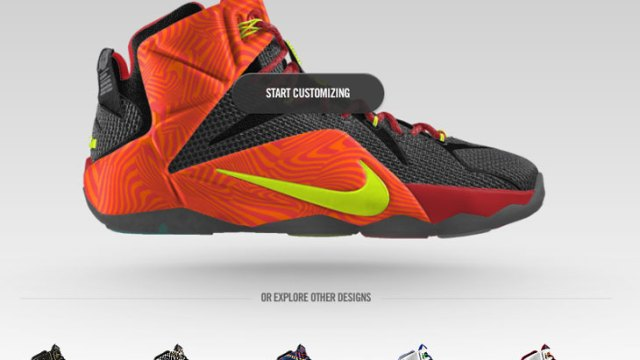 """new style 17380 847fd Nike LeBron 12 """"Court Vision"""" Graphic Now Available on NIKEiD"""