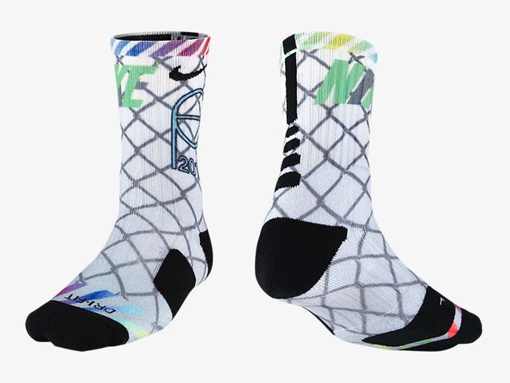 509b322dff3 Nike NYC All Star Elite Basketball Socks
