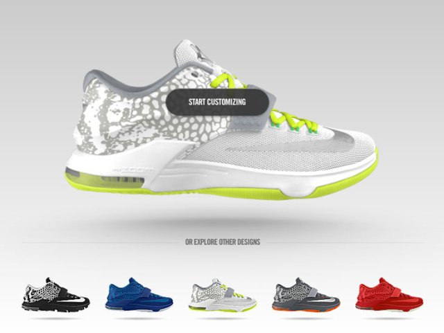61a08cdde55b Nike KD 7 Electric Eel Graphic Now Available on NIKEiD