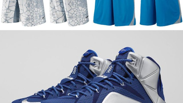 """ace02c6cfe95 Nike LeBron Shorts to Sport with the Nike LeBron 12 """"What If"""""""