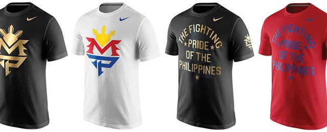 proteína Producto Estable  New Nike Manny Pacquiao Shirts for Mayweather vs Pacquiao | SportFits.com