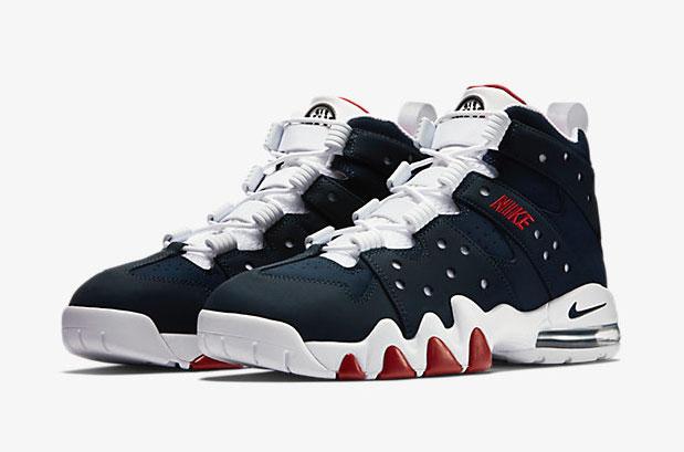 169dc05cc8 Nike 94 Red Air Cb Barkley White Blue Max