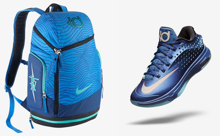 "on sale 63440 b70e3 Nike KD Max Air Backpack to Match the Nike KD 7 Elite ""Elevate"""