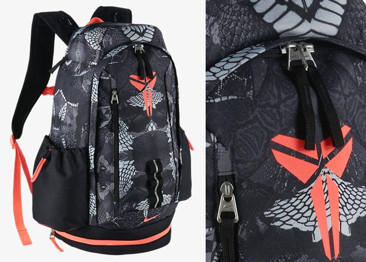 "quality design c0518 fc902 Nike Kobe Mamba Backpack ""Dove Grey Black Hot Lava"""